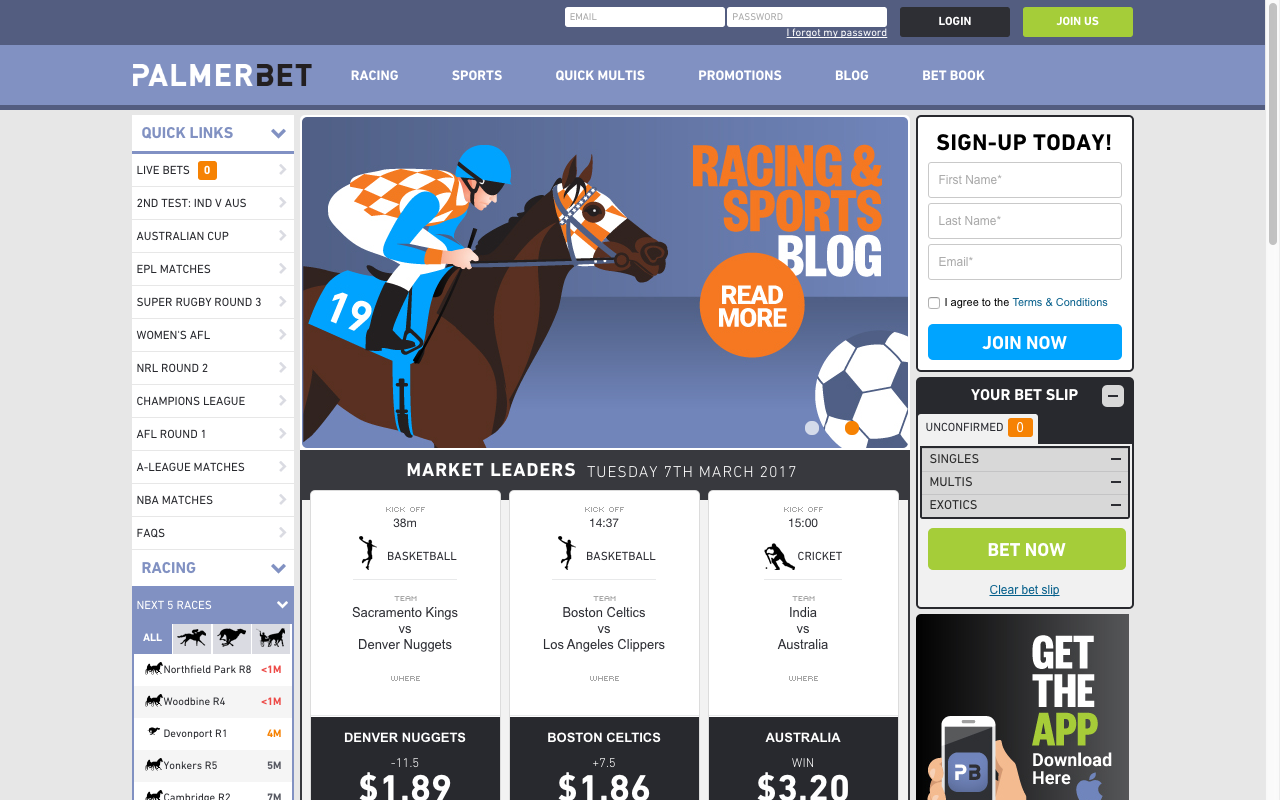online betting bonuses australia